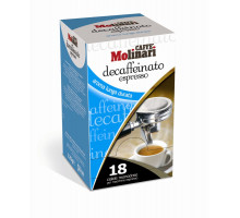 Molinari Decaffeinated Espresso