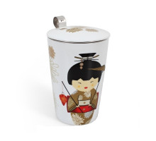 Термочашка TEAEVE Little Geisha Gold 400мл.