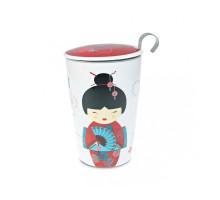 Термочашка TEAEVE Little Geisha Red 400мл.