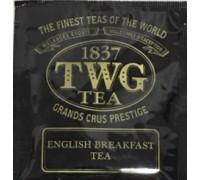 Чай TWG English Breakfast - Английский Завтрак (100 пакетов по 2,5г)